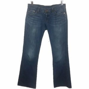 Lucky Brand Lil Maggie Flared Low Rise Jeans